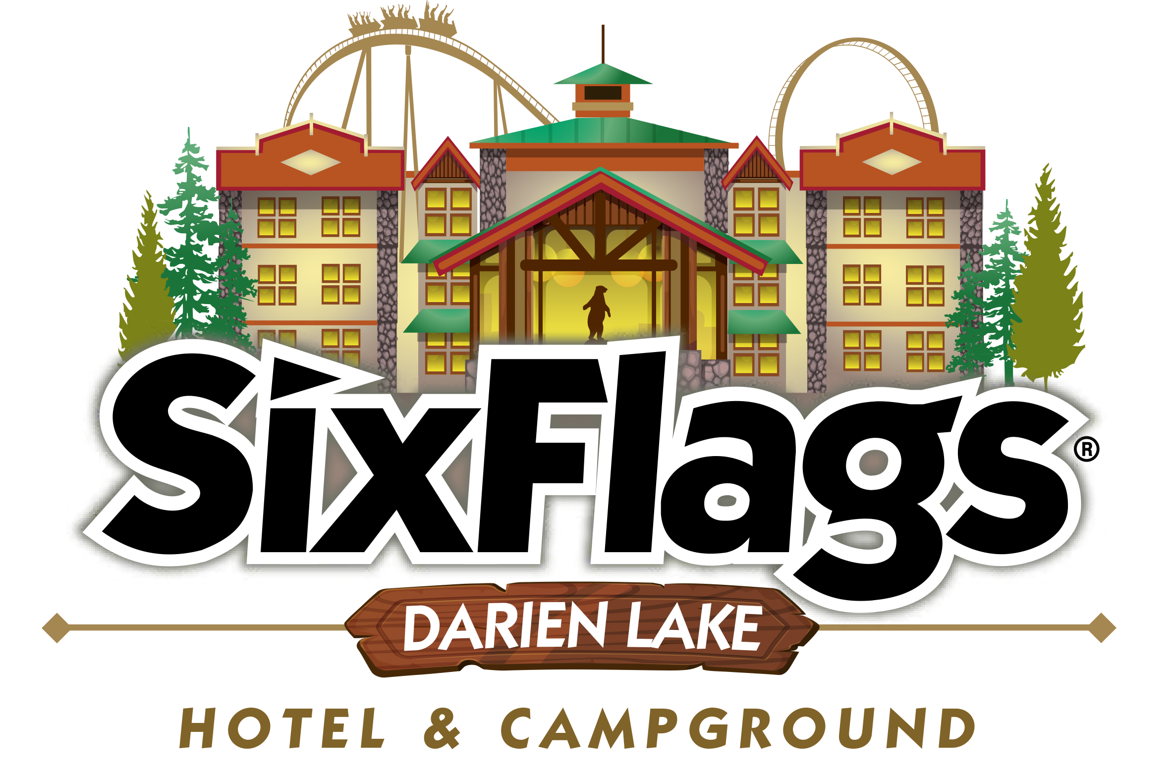Darien Lake Lodging Logo